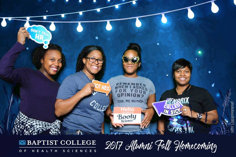 Photo Booth Baptist College of Health Sciences Alumni Movie Night