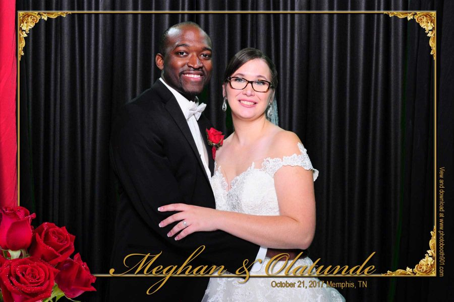 Meghan and Olatunde's Wedding Reception Photo Booth