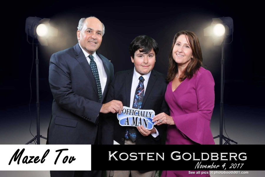 Kosten's Bar Mitzvah Party Photo Booth