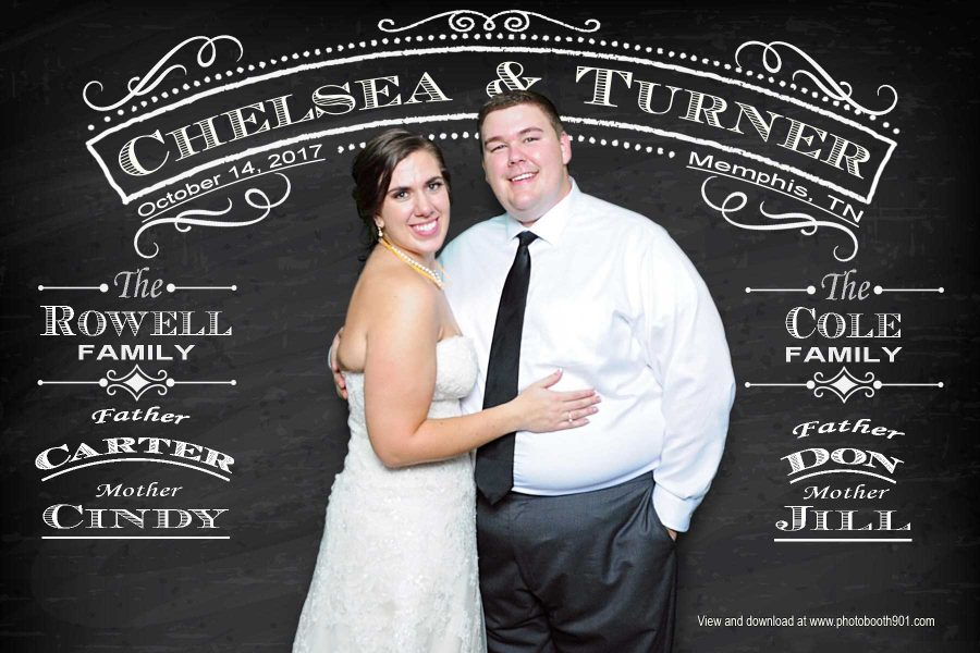 Photo Booth for Chelsea and Turner's Wedding Reception
