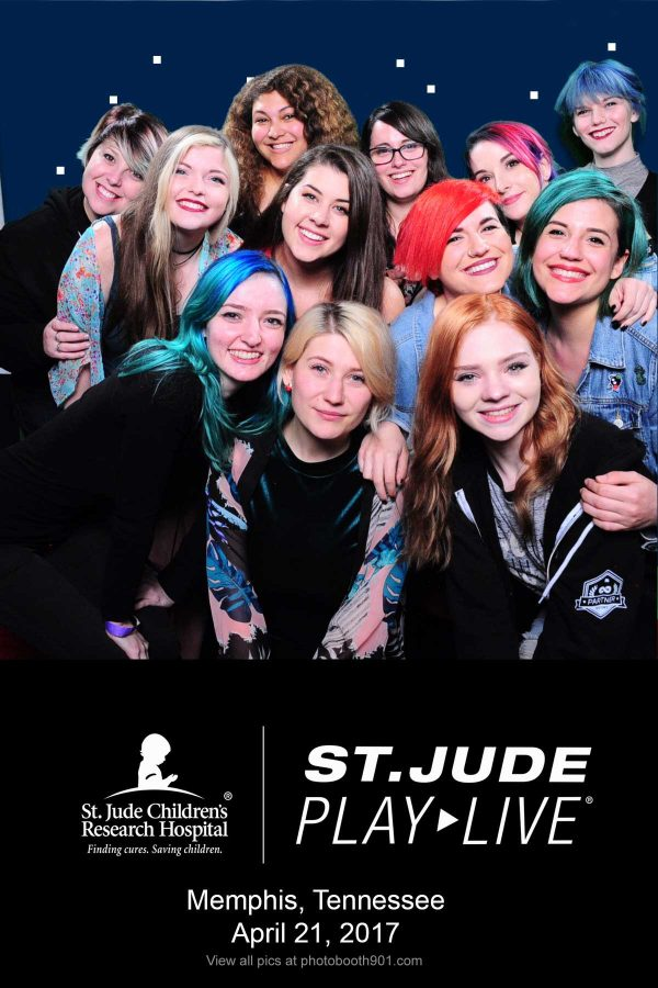 St Jude Play Live Photo Booth at Loflin Yard