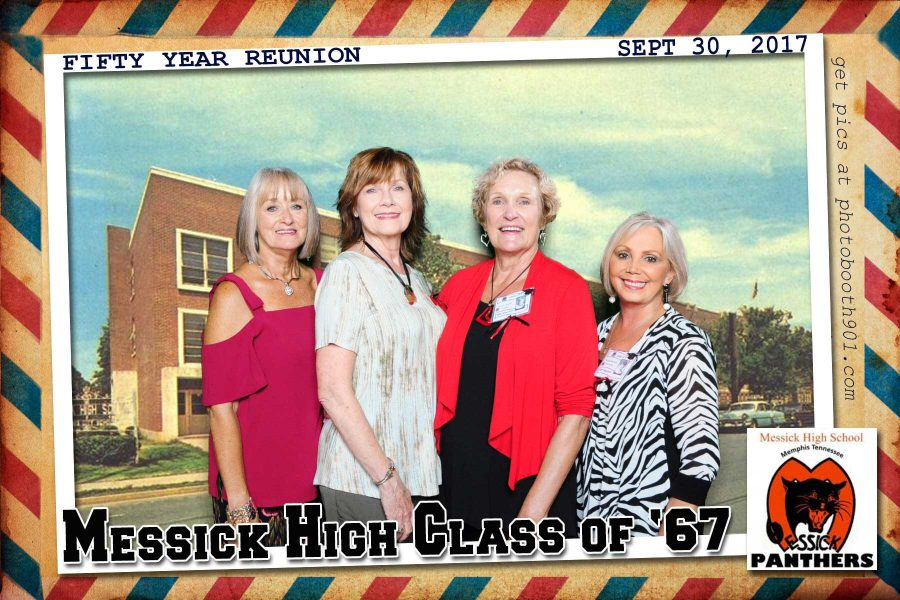 Messick High Class of 67 Reunion Photo Booth