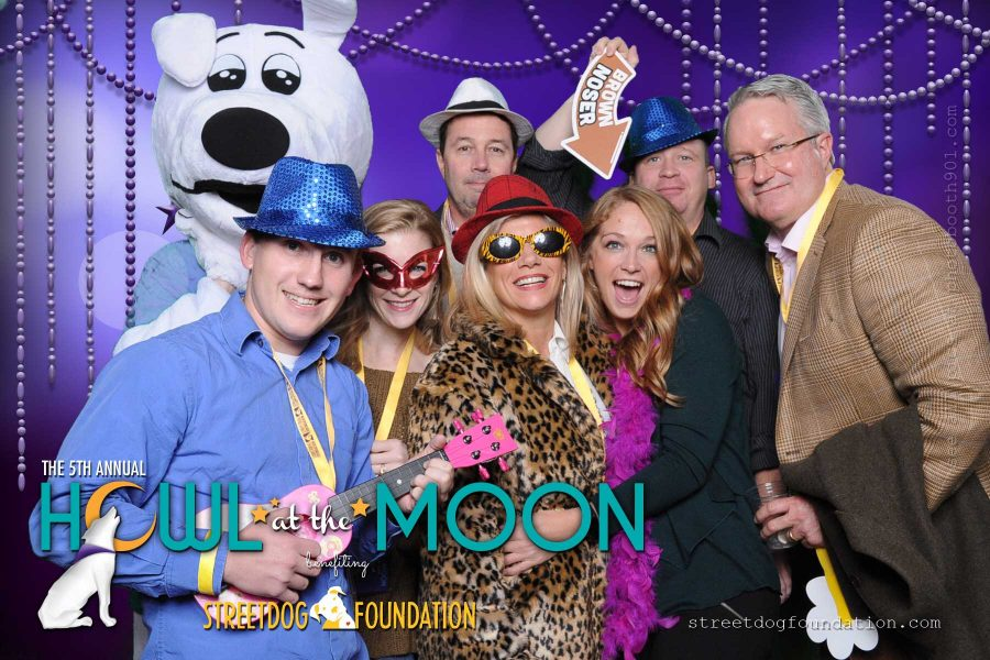 Street Dog Foundation Howl at the Moon Photo Booth