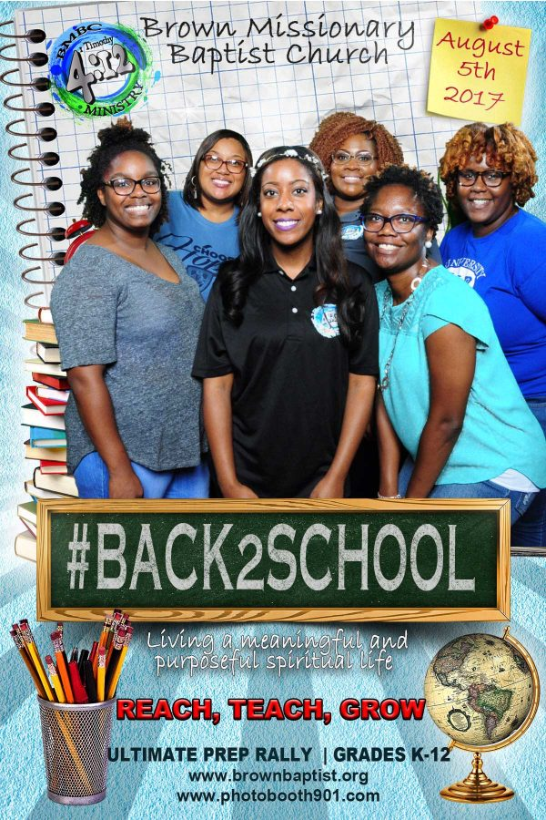 BMBC Back To School Party Photo Booth