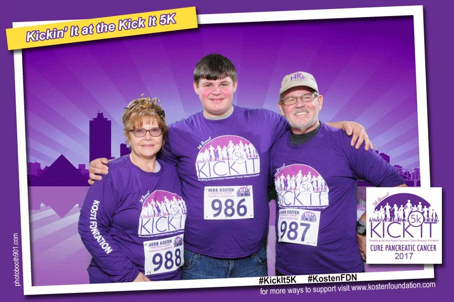 2017 Kick It 5K Photo Booth