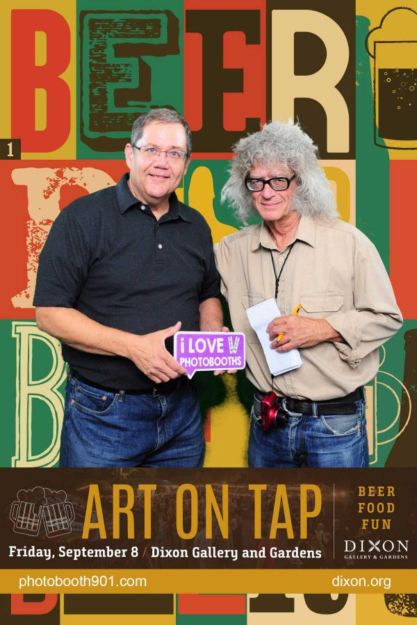 Dixon Gallery Art on Tap Photo Booth 2017