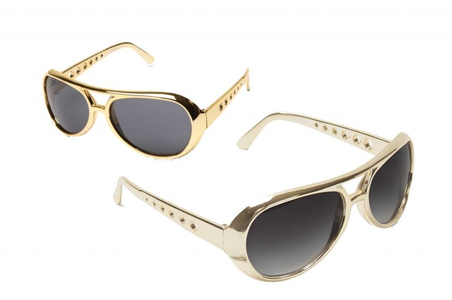 Elvis Sunglasses are popular photo booth prop rental items