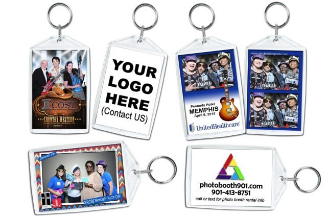 Photo Booth Keychain Prizes