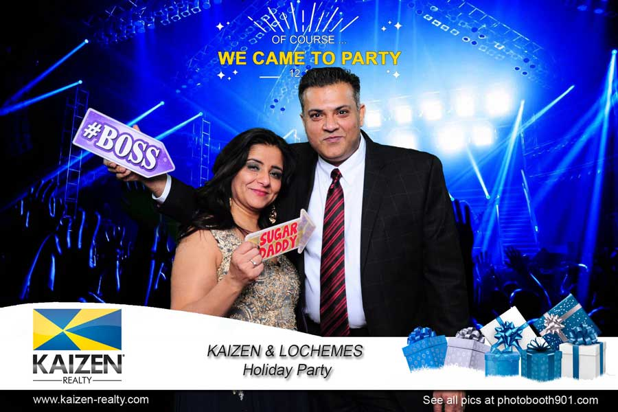 Kaizen & Lochemes Holiday Party Photo Booth