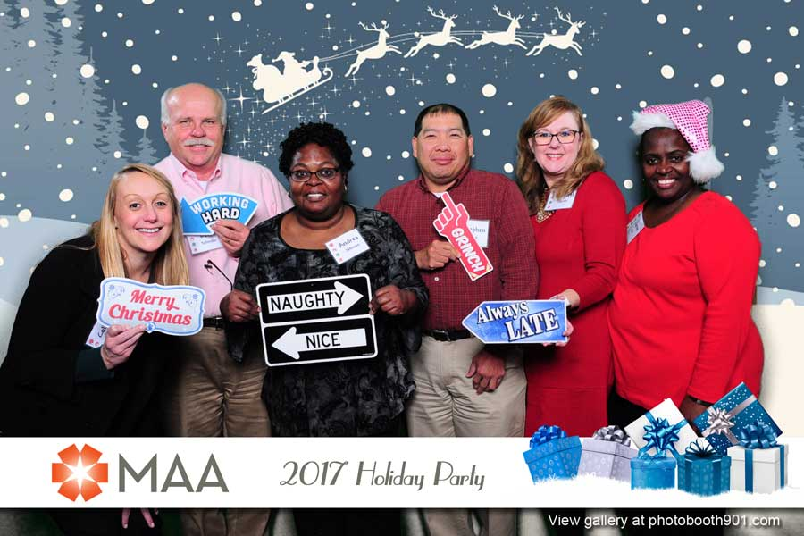 MAA Holiday Party 2017 Photo Booth