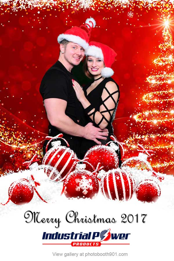 Industrial Power Holiday Party Photo Booth