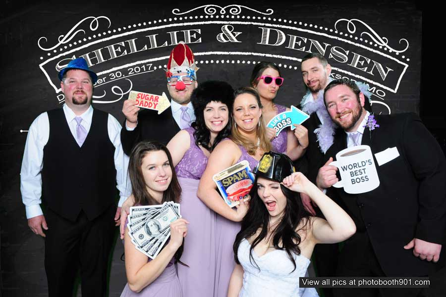 Shellie and Densen's Wedding Photo Booth