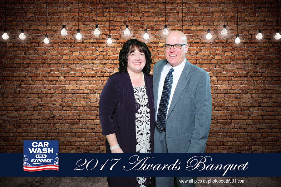 Car Wash USA 2017 Awards Banquet Photo Booth