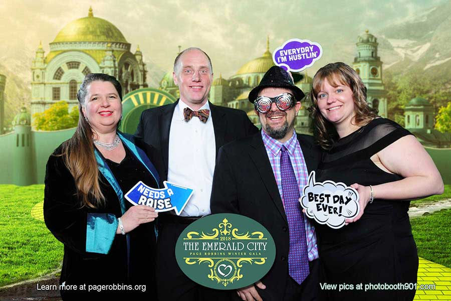 Page Robbins Adult Day Day Care 2018 Gala Photo Booth