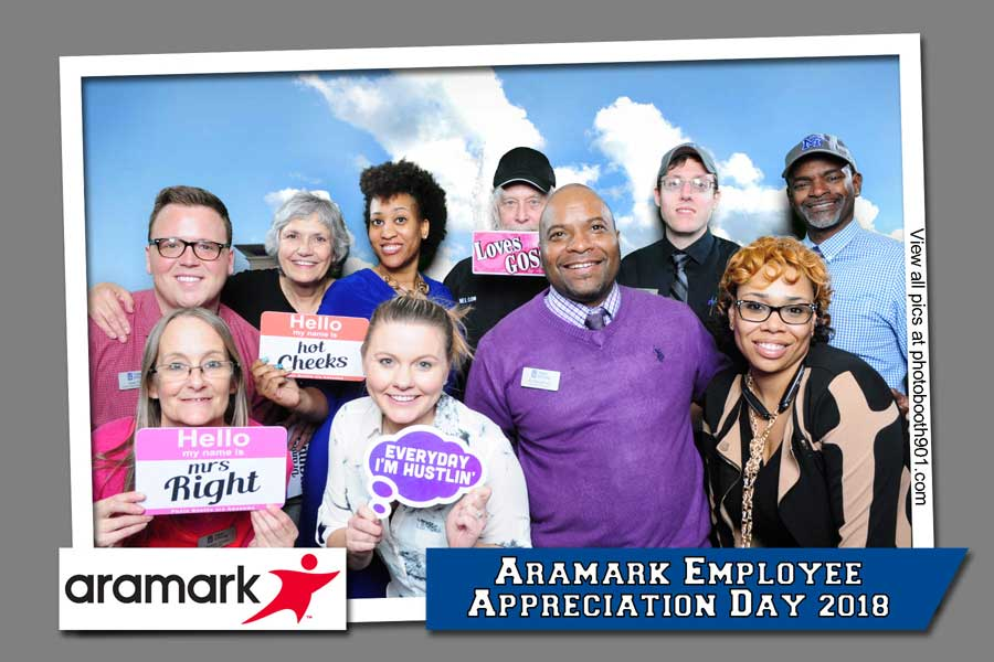 Aramark Employee Appreciation Day Photo Booth