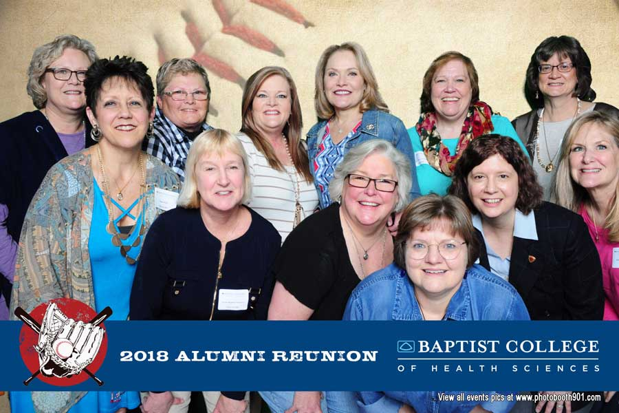 Baptist College of Health Sciences 2018 Alumni Reunion Photo Booth