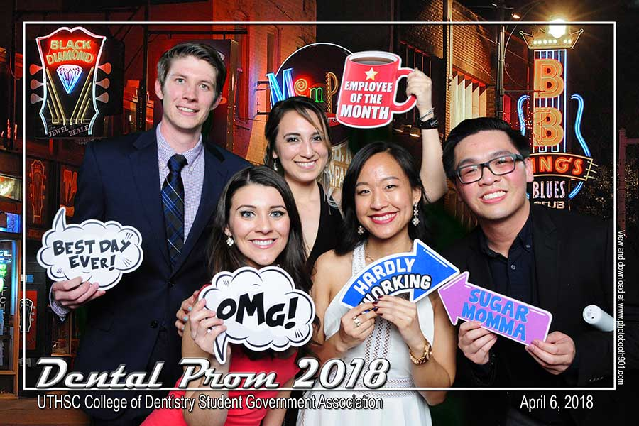 UTHSC Dental College Prom Photo Booth