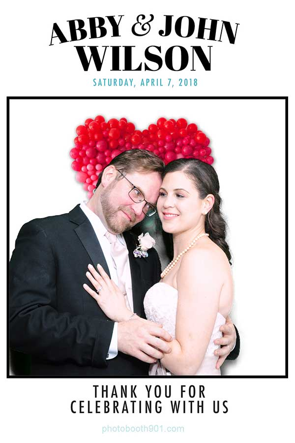Abby and John's Wedding Photo Booth