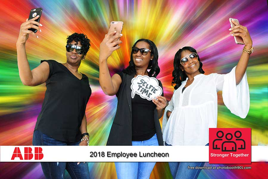 ABB Employee Luncheon Photo Booth
