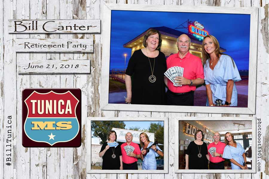 "Bill ""Tunica"" Canter Retirement Party Photo Booth"