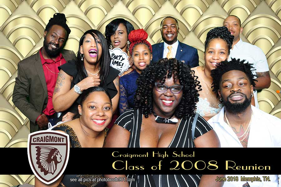 Craigmont High School Class of 2008 Reunion Photo Booth