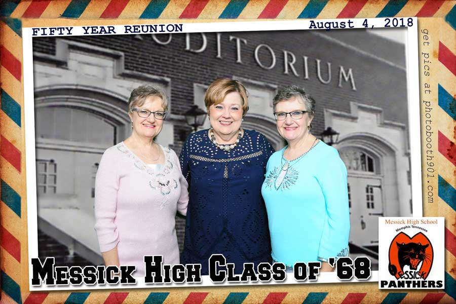 Messick Class of 68 Reunion Photo Booth