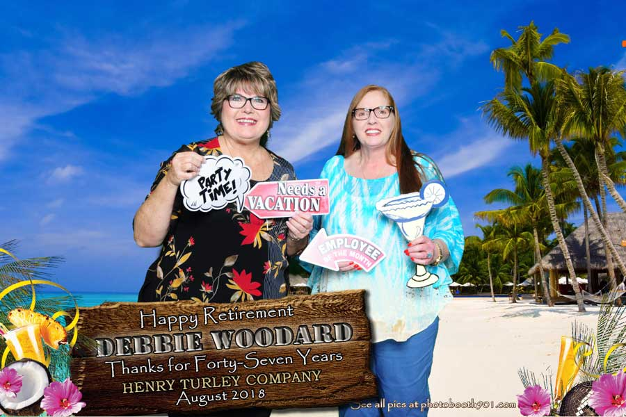 Debbie's Retirement Party Photo Booth