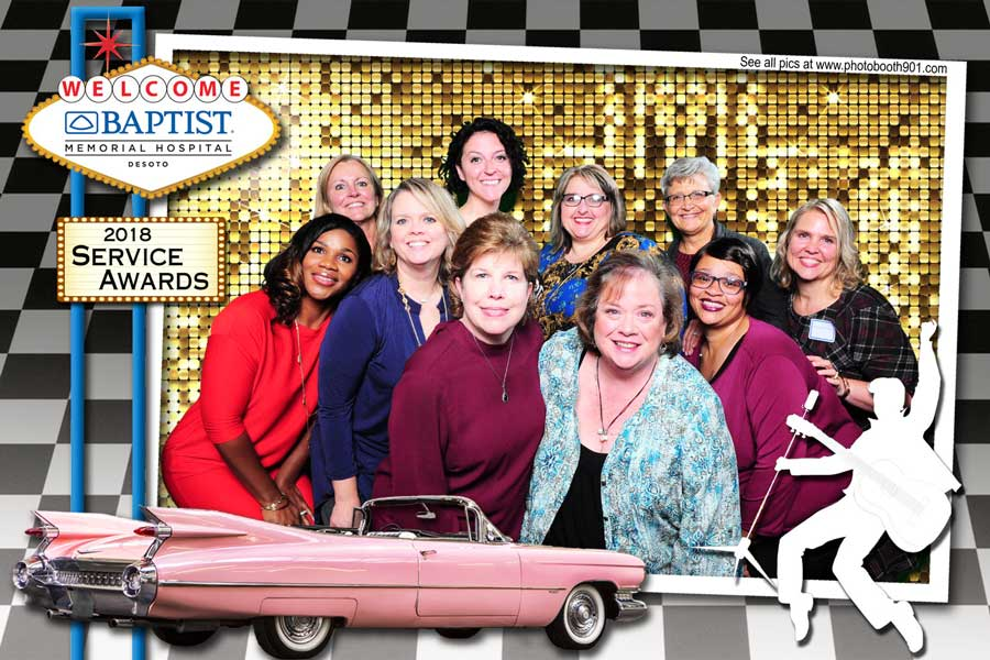 Baptist Desoto Service Awards 2018 Photo Booth