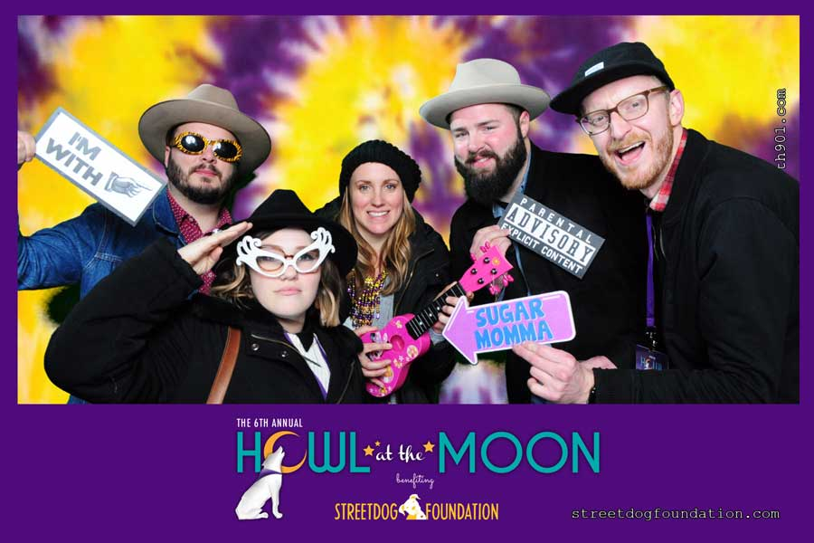 Street Dog 2018 Howl at the Moon Photo Booth
