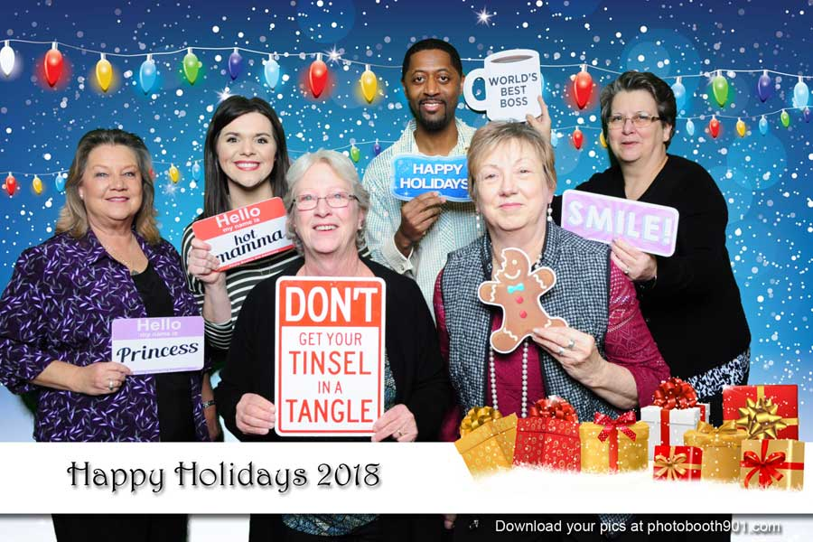 Dignity Memorial 2018 Holiday Party Photo Booth