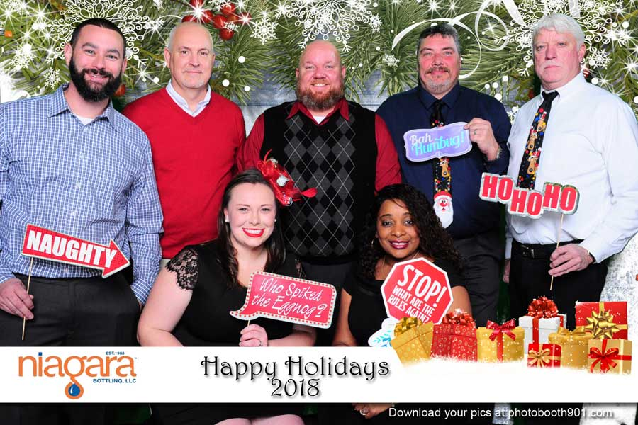 Niagara Bottling Holiday Party Photo Booth