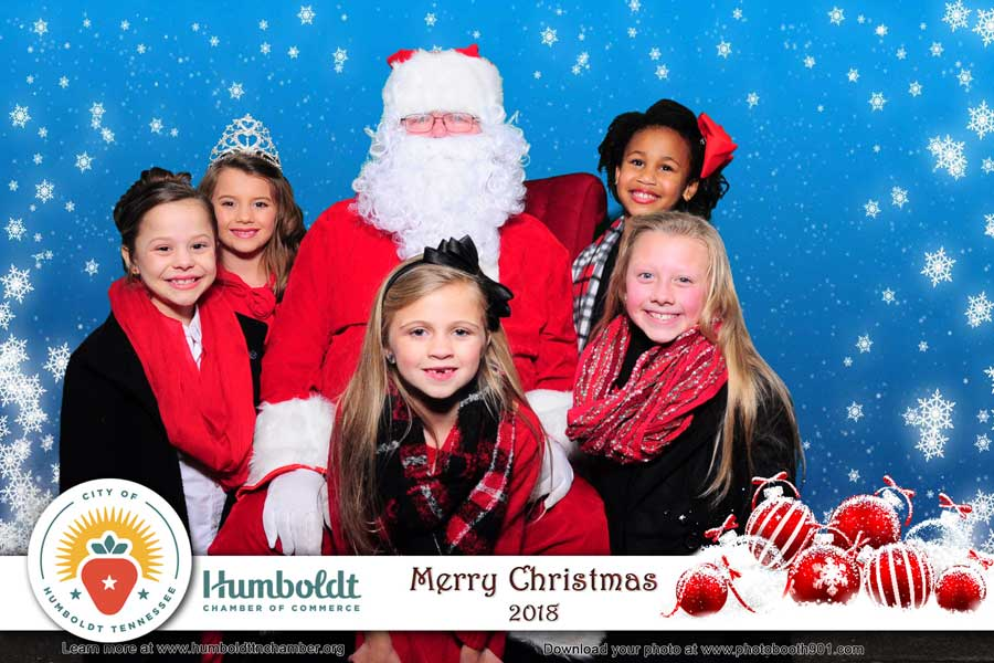 Pictures with Santa Humboldt Tennessee