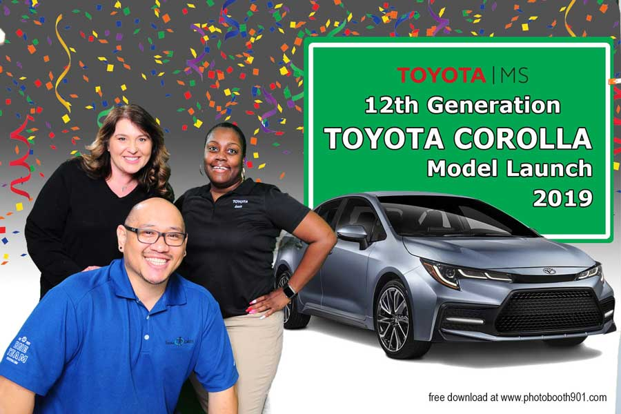 Toyota Corolla Model Launch 2019 Photo Booth