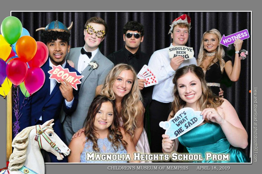 Magnolia Heights School Prom Photo Booth