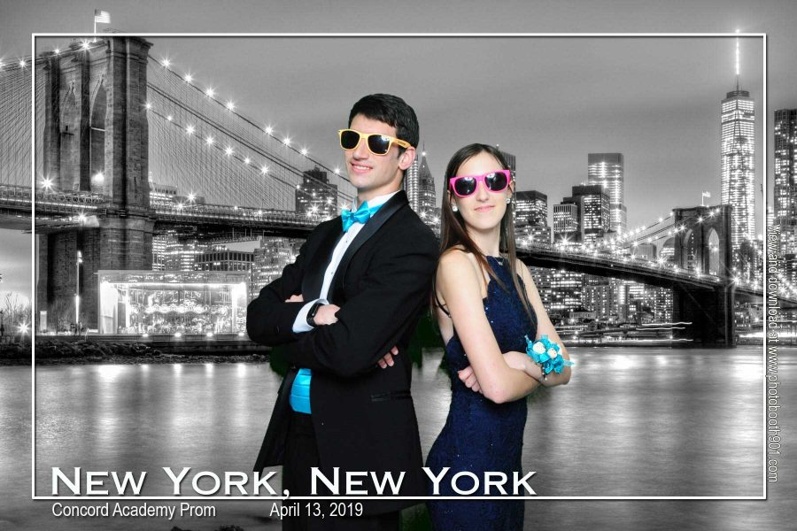 Concord Academy Prom Photo Booth