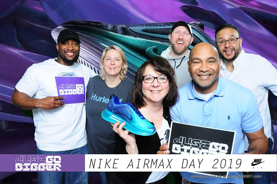 NIKE AirMax Photo Booth NALC