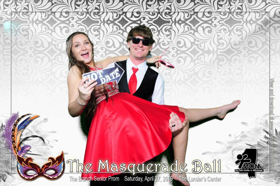 Olive Branch High School Prom Photo Booth A