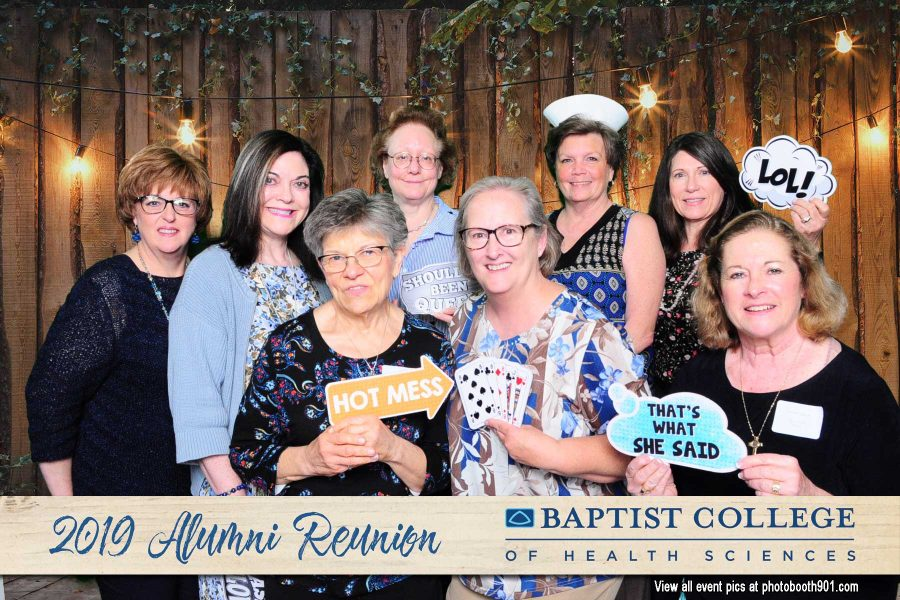 Baptist College of Health Sciences Alumni Reunion Photo Booth