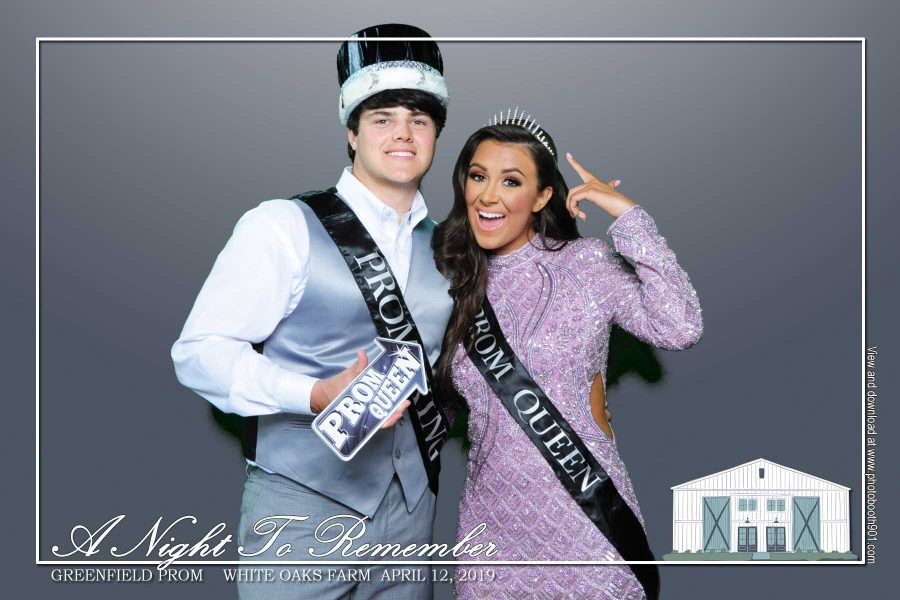 Greenfield High School Prom Photo Booth