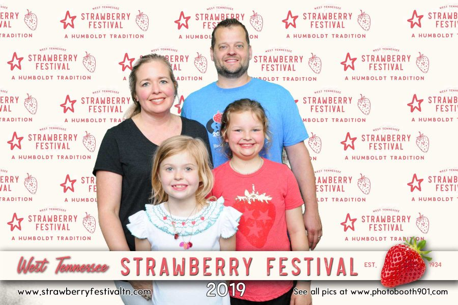 West Tennessee Strawberry Festival Photo Booth
