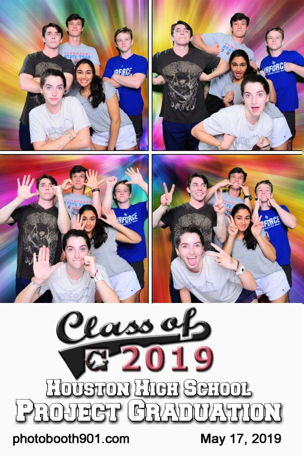Houston High School Project Graduation Photo Booth
