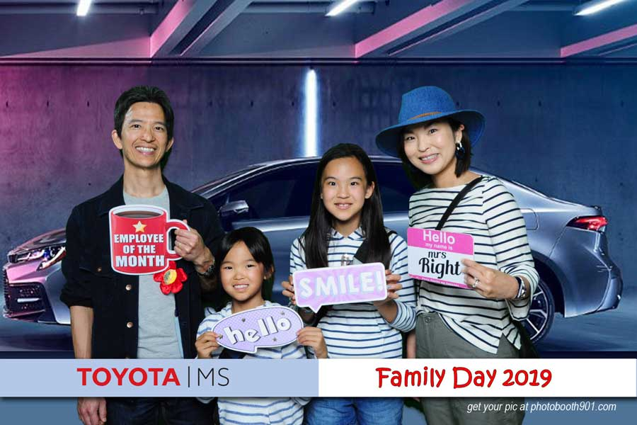 Toyota Family Day Photo Booth B