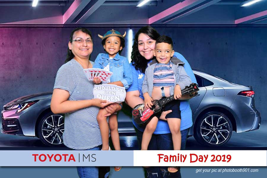 Toyota Family Day Photo Booth A